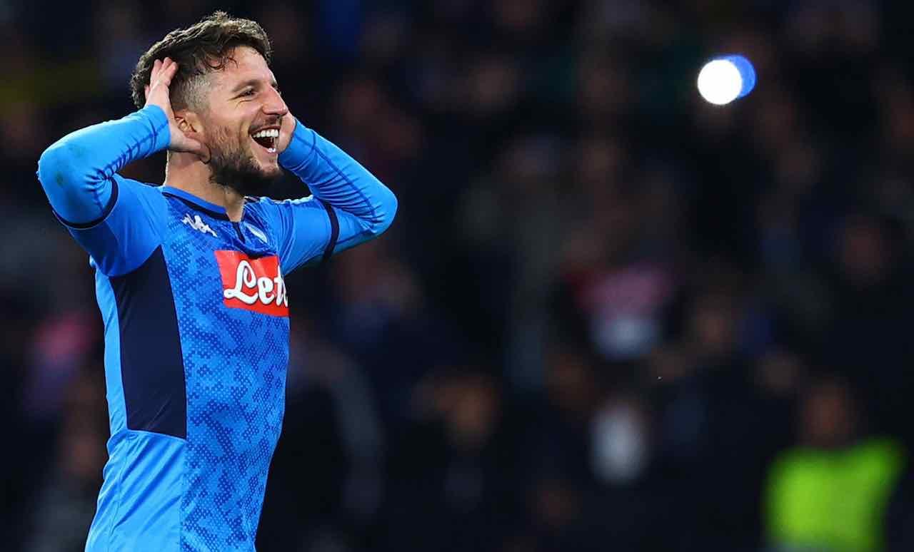 Mertens record gol Napoli