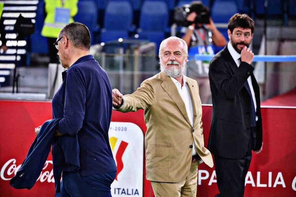 Sarri Juventus incompatibili