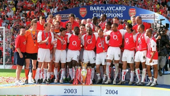 arsenal invincibili 2003 2004