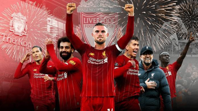 Liverpool campione 2019 2020