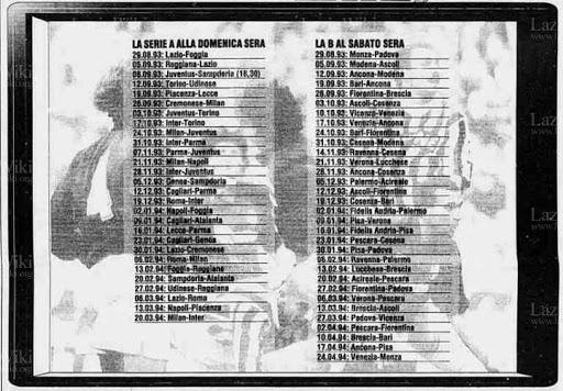 posticipi anticipi pay per view 1993
