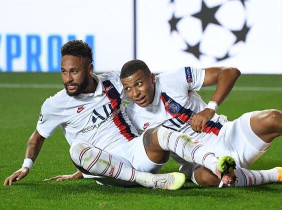 Neymar ed Mbappé
