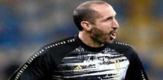 infortunio Chiellini Dinamo Kiev Juve