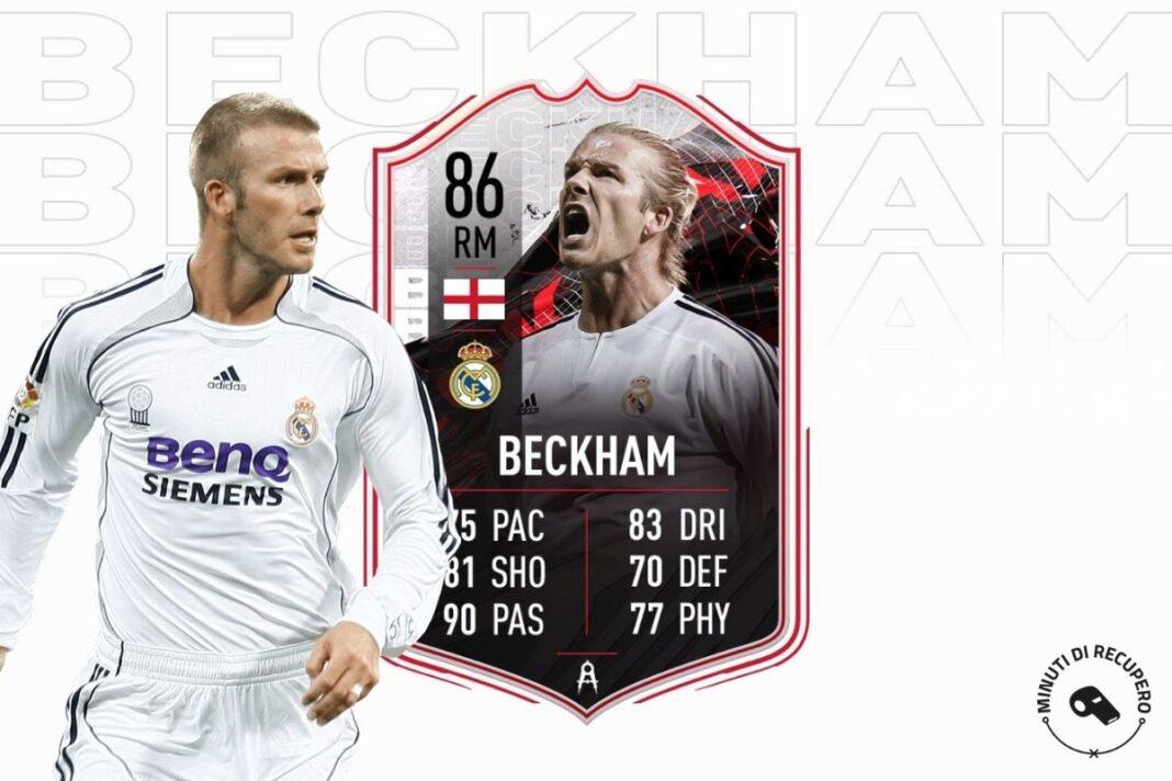 David Beckham is back