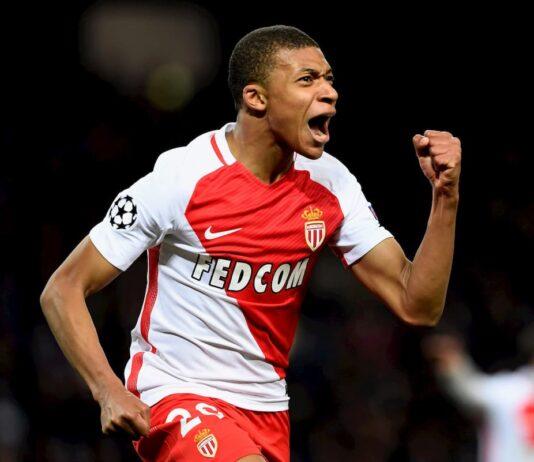Monaco - Kylian Mbappé