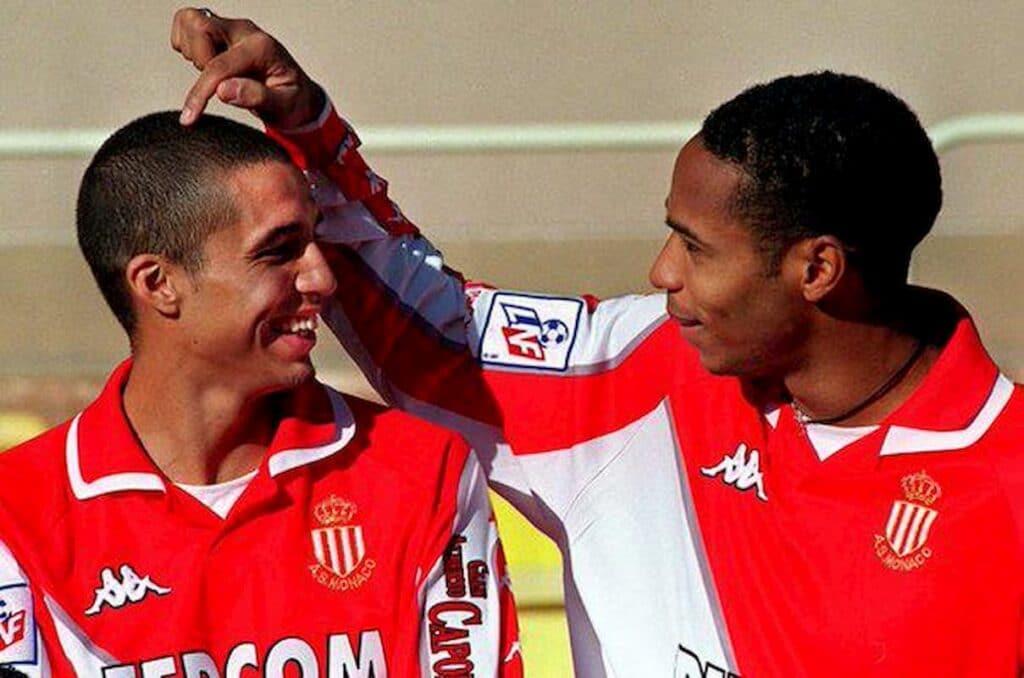 Monaco - Trezeguet e Henry