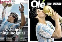 maradona sui giornali