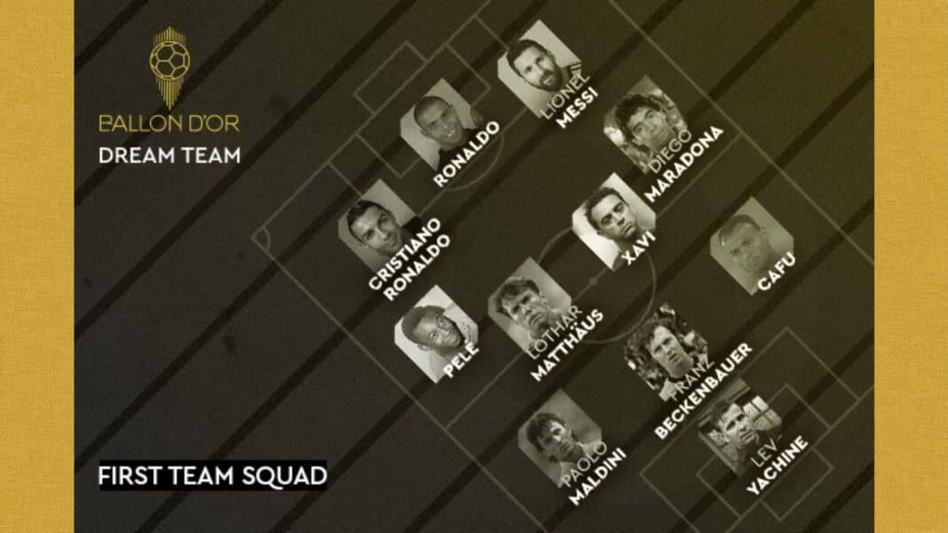 dream team pallone d'oro