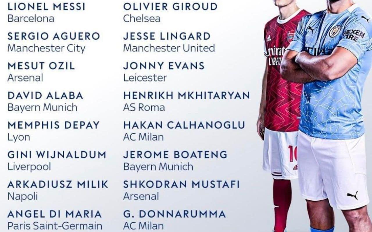 migliori calciatori in scadenza nel 2021