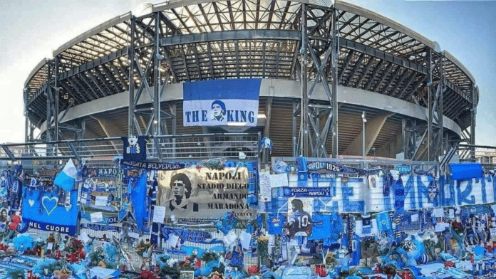 stadio san paolo napoli diego armando maradona