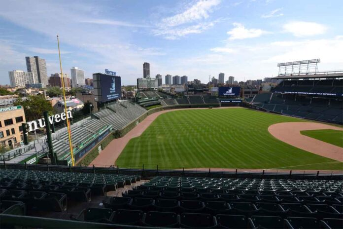 wrigley field stadio chicago cubs monumento nazionale