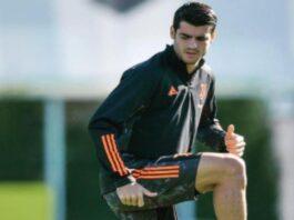 infortunio Morata Juventus