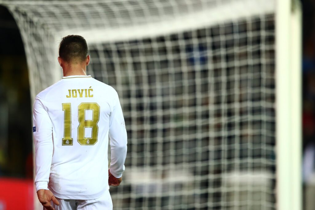 real madrid jovic
