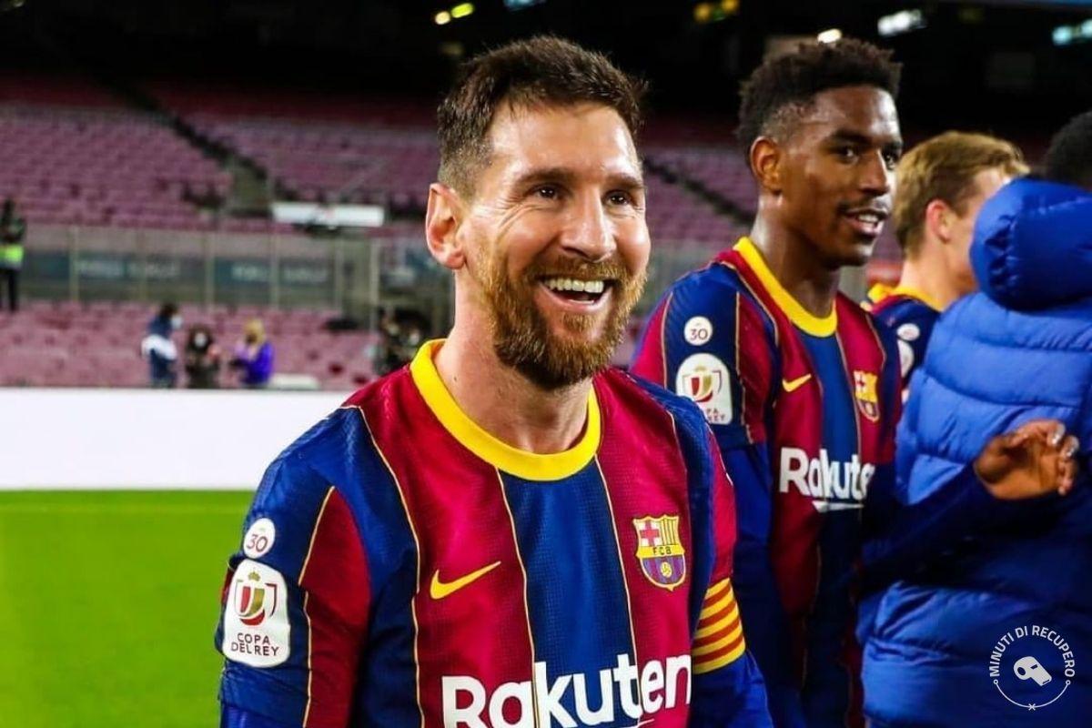 PSG Barcellona - Messi