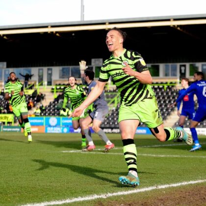 Forest green rovers 3