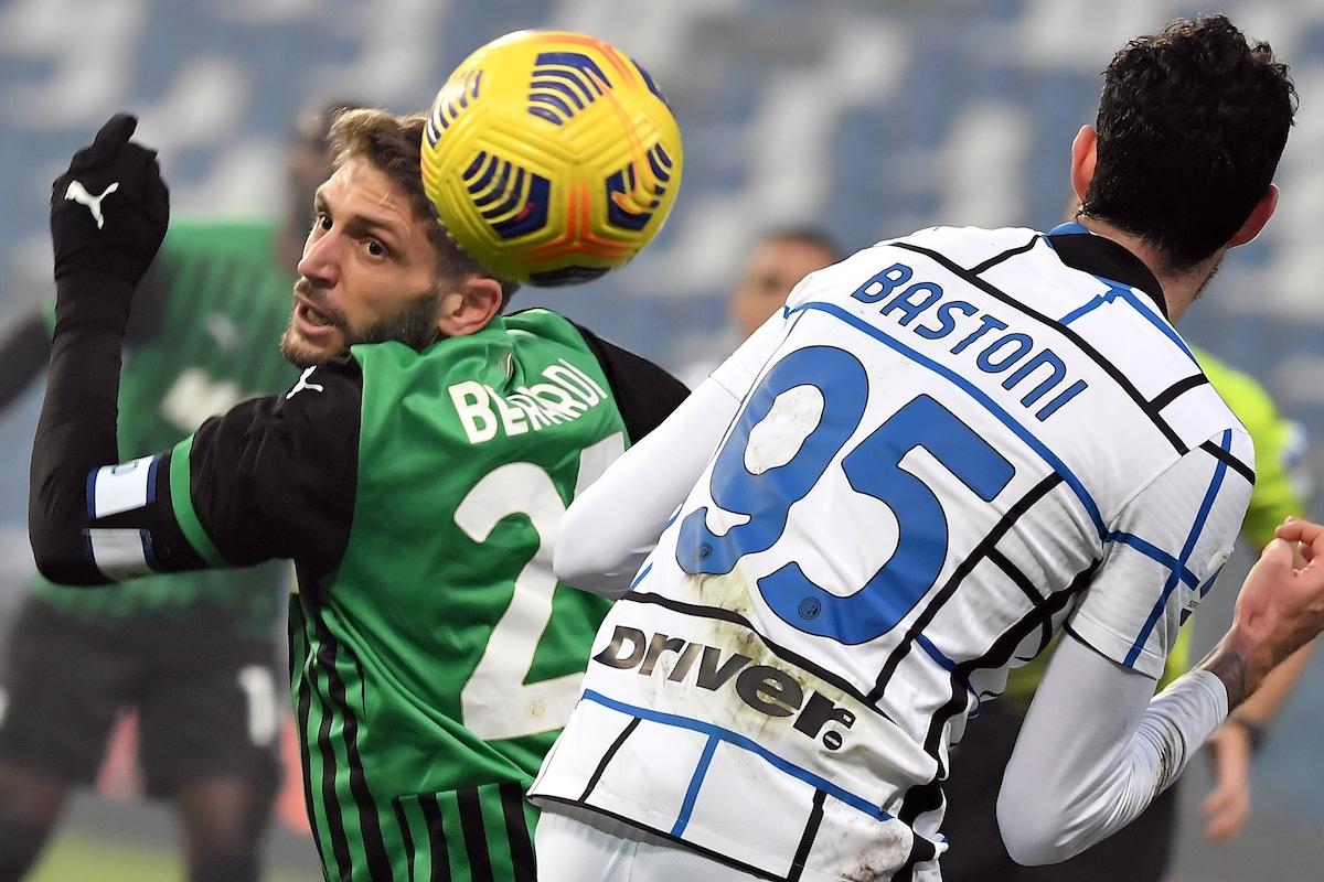 Inter vence 2-1 a Sassuolo, se aleja 11 puntos en la cima  |Inter- Sassuolo