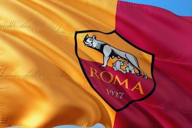 bandiera maglia roma