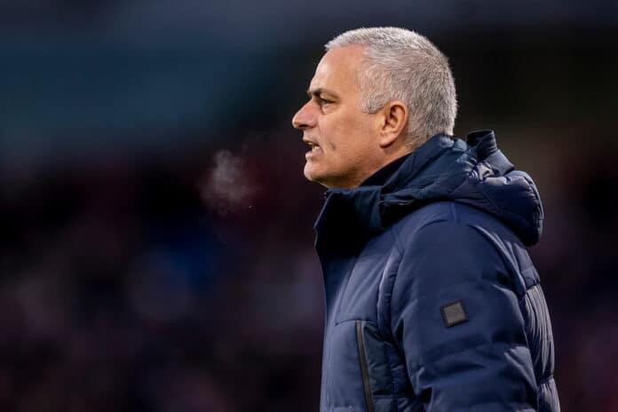 roma-cska sofia Mourinho infortunio