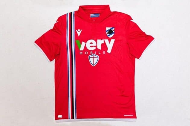 sampdoria maglia 2022