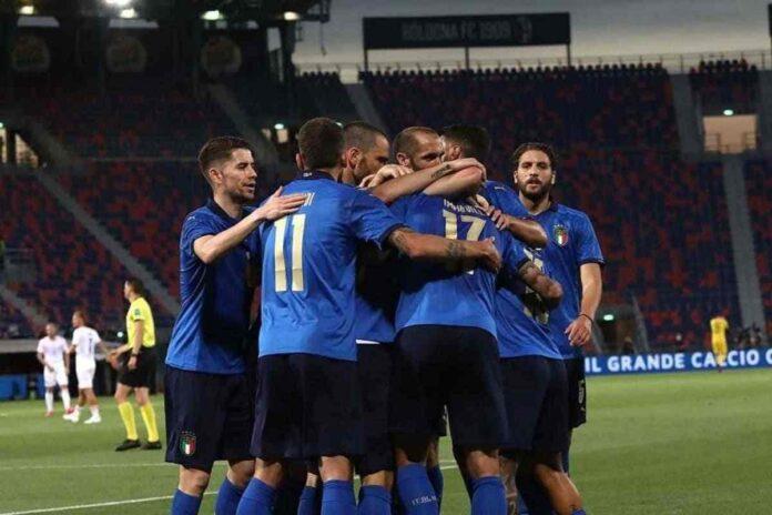 L'Inno d'Italia c'è sempre ad ogni partita della Nazionale
