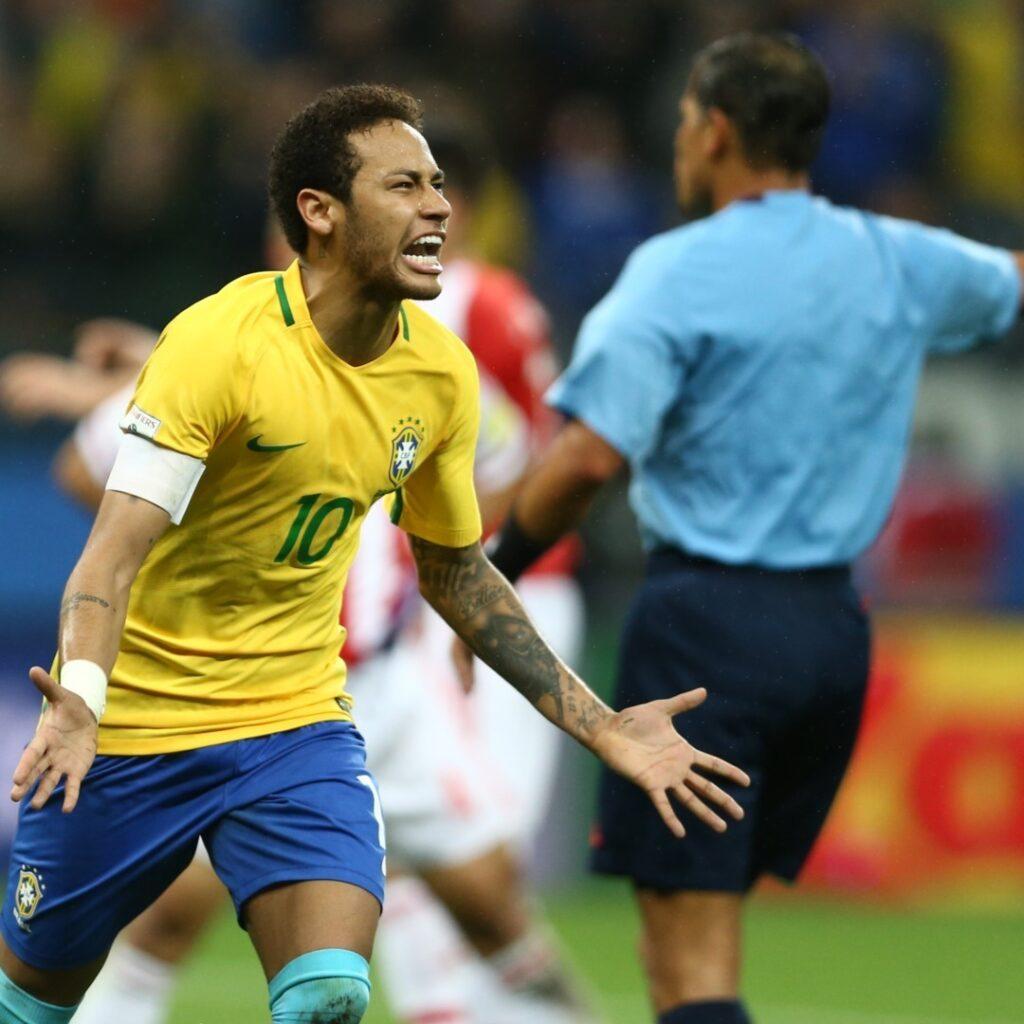 Neymar Jr Brasile gol