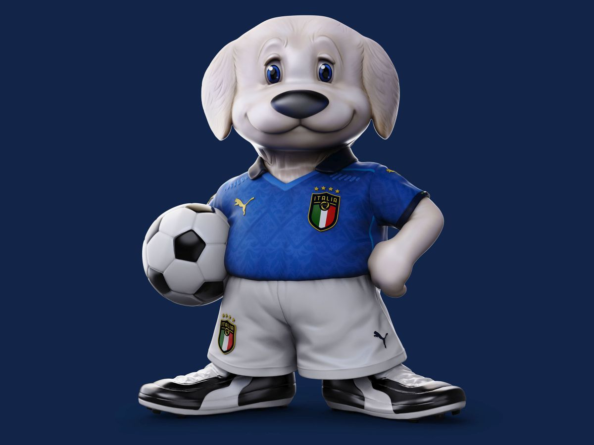 Mascotte Italia Europei 2021