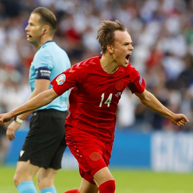 Damsgaard Danimarca Euro 2020