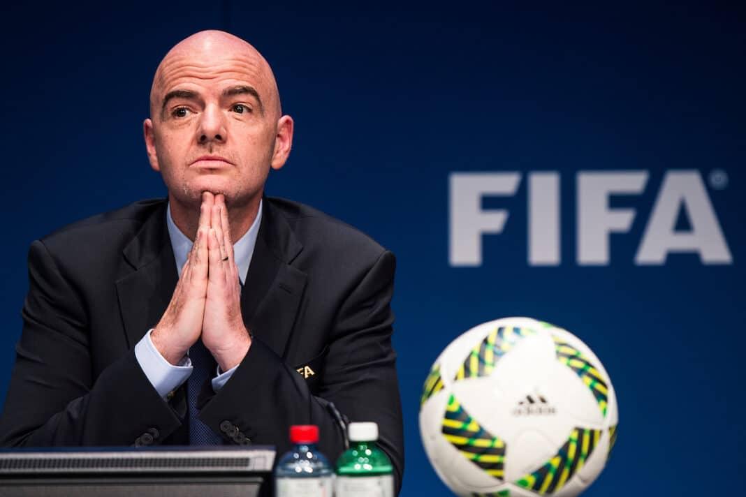 gianni infantino Fifa Mondiale