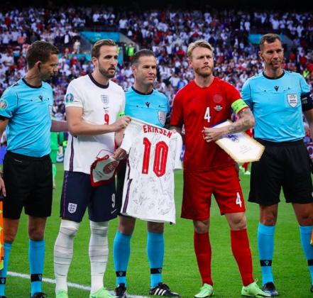Inghilterra Danimarca Eriksen