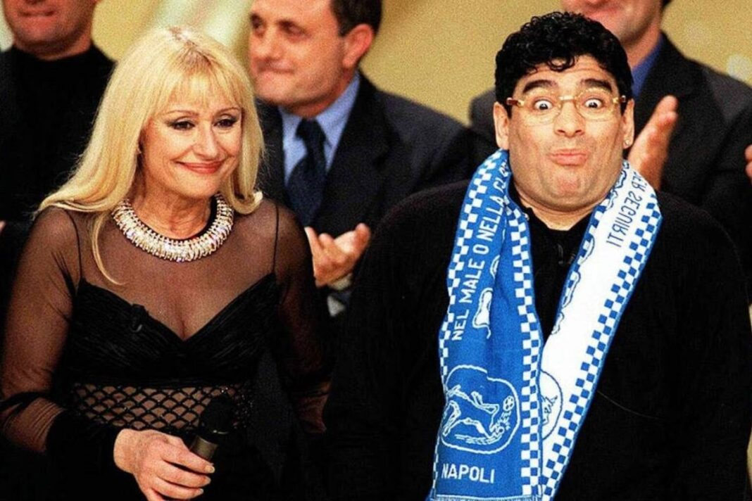 Raffaella Carrà Maradona
