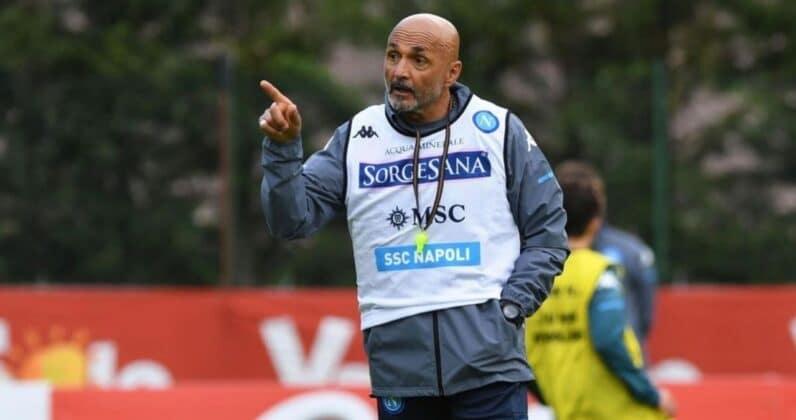 spalletti allenamento Napoli