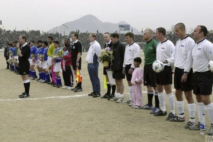 afghanistan kabul partita calcio