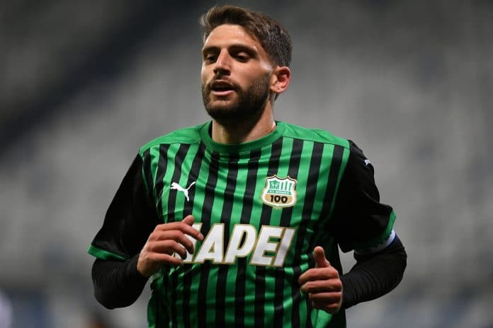 Berardi Sassuolo Leicester