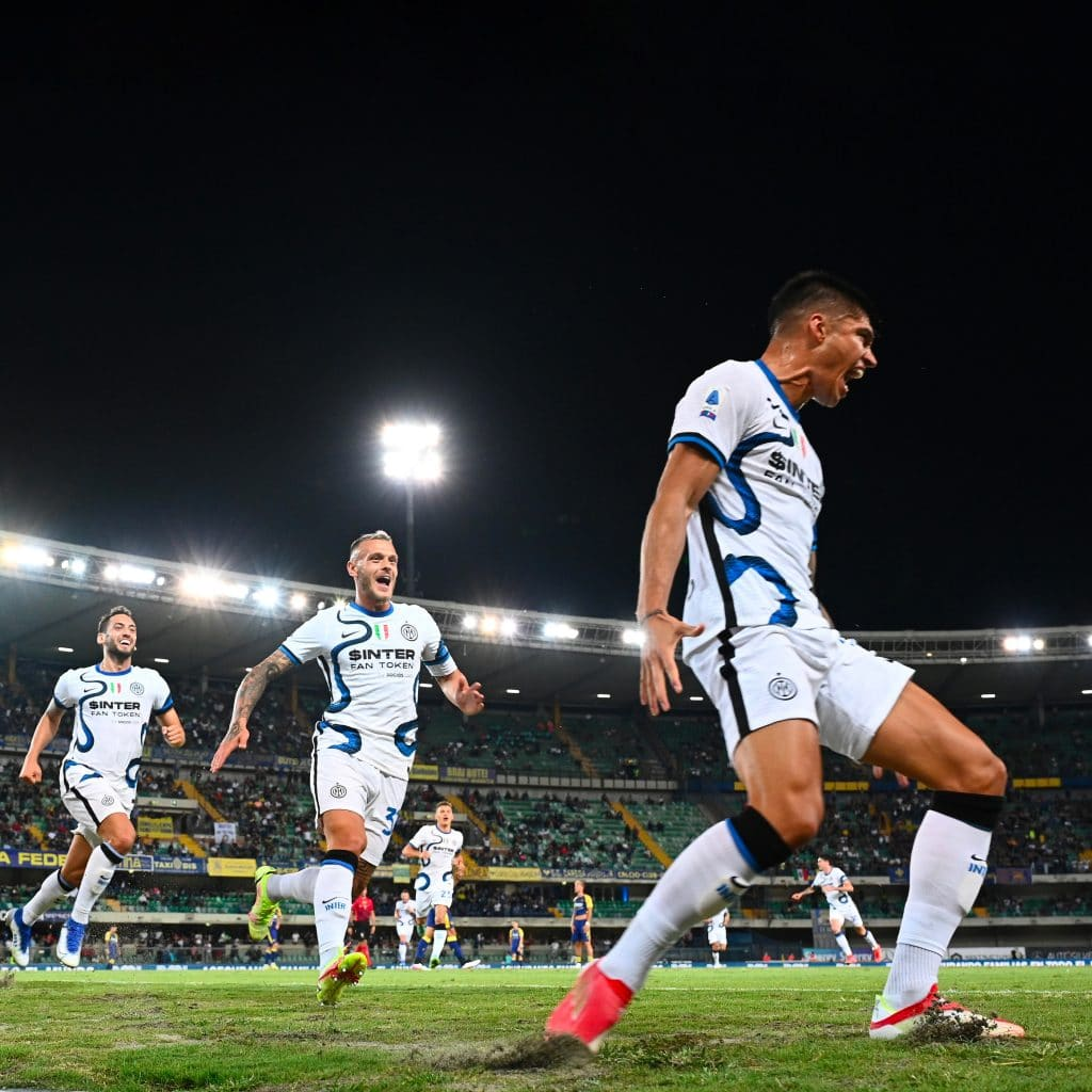Sampdoria Inter correa